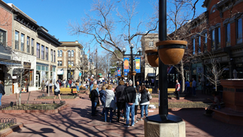 Pearl Street the Heart of Boulder